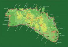 20 Rutas Guía Consell Insular Menorca, Trips, Paths, History, Traveling, Travel