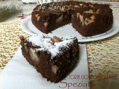 Torta cioccolato e pere speziata http://blog.giallozafferano.it/incucinadalicia/torta-cioccolato-e-pere-speziata/