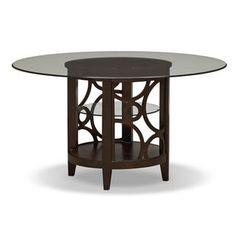 "[Luna Pearl II 54"" Dining Table]"
