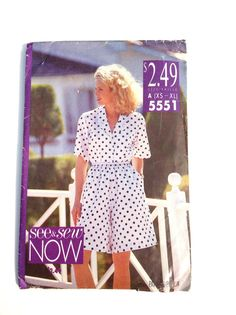See & Sew 5551 Women's Shirt and Shorts Pattern by DonnaDesigned