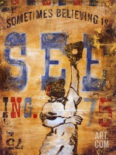 Sometimes Seeing is Believing Art Print by Rodney White at Art.com