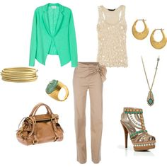 Golden Jewel, created by laura-hurt-corley.polyvore.com