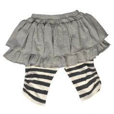 Little Wings grey/charcoal pant skirt