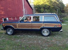 Perfect fall ride! I hated driving my parents Jeep Grand Wagoneer growing up and now I would die to have one, ha!  Funny how things change!