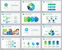 2018 Best Powerpoint templates | The highest quality PowerPoint Templates and Keynote Templates download - Part 11