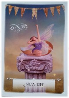 New Life ~ Wisdom of the Oracle divination card by Colette Baron-Reid