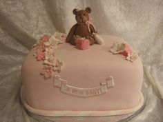 A New baby - babyshower cake