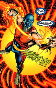 Atom Smasher DC Comics