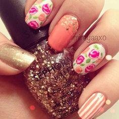 sephora nail art | Nail art Sephora di lefashiondiaries - Idee per nail art primaverili ...