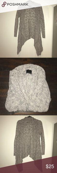 Heather Grey Cynthia Rowley Draped Sweater Heather grey draped Cynthia Rowley sweater. Cynthia Rowley Sweaters