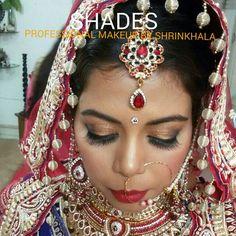 Bride#indian#asian#tika#nath#shimmer#eyemakeup