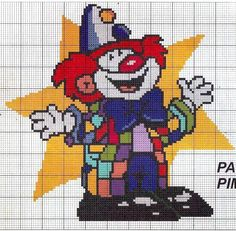 letter a with crown 200 best clowns cross stitch stuff images clowns cross 8677