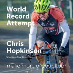 Another World Record Attempt by Chris Hopkinson. #kleentex #makemoreofyourfloor #chrishopkinson