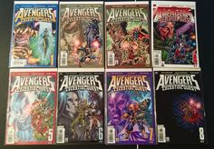 The New Avengers Celestial Quest #1-8 Limited CompleteSet Marvel Comics VF | Collectibles, Comics, Modern Age (1992-Now) | eBay!