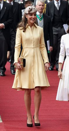 Kate Middleton in Emilia Wickstead at The Order of Thistle