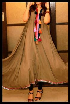 Latest Casual Wearing Beautiful Dresses for Girls 2013