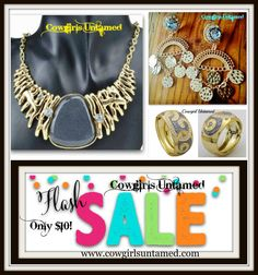 5/4 to 5/8 $10 Fash Sale in our BIG RED BARN SALE section! www.cowgirlsuntamed.com #sale #jewelry #bohojewelry #cowgirljewelry #westernjewelry #gypsy jewelry #cowgirl #boho #gypsy #horse