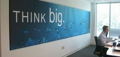 Creative Wall Art For Office: Creative Office Branding using wall graphics from Vinyl Impression,: