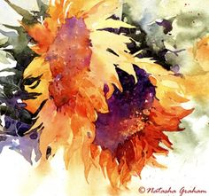 Sunflowers by Natalie Graham