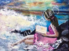 Artist: Kratimenou Konstantina Title: on the wave acrylic Joomla Templates, Fingerprints, Waves, Gallery, Artist, Beach Waves, Amen, Artists, Thumb Prints