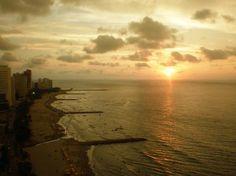 atardecer en Cartagena Colombia