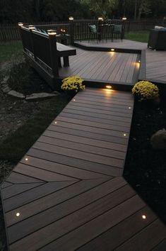 Small Patio Design, Patio Deck Designs, Patio Ideas, Backyard Ideas, Garden Design, Garden Ideas, Landscaping Ideas, Small Deck Designs, Small Decks