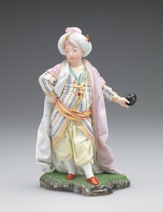 Girl Masquerading as a Sultana Fine Porcelain, Vintage Dolls, Chinoiserie, Masquerade, Art Decor, Glass Art, Dresden, Museum, Sculpture