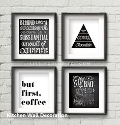 38 New Ideas Kitchen Galley Wall Printables Style Modern Kitchen Wall Decor, Kitchen Wall Design, Kitchen Wall Quotes, Kitchen Wall Art, Gold Kitchen, Kitchen Walls, Kitchen Worktop, Kitchen Ideas, Galley Wall