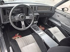 BUICK GRAND NATIONAL INTERIOR.... Miss mine with gauges in the center console and digi dash