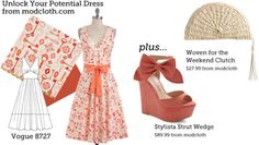 (via Make This Look: Unlock Your Potential Dress | The Sew Weekly - Sewing & Vintage Lifestyle)