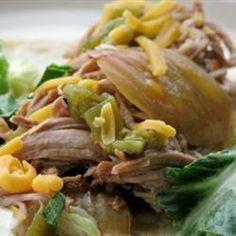 Porc épicé aux piments verts, à la mijoteuse @ qc.allrecipes.ca