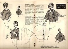 Cape/capa pattern