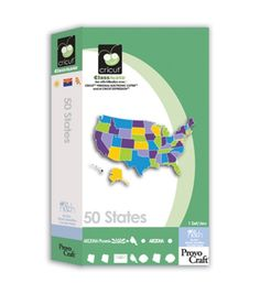 Die Cutting Cartridges 112541: Cricut Classmate 50 States Cartridge Rare Brand New In Plastic Free Shipping! -> BUY IT NOW ONLY: $75 on eBay!