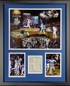 MLB Kansas City Royals 2015 World Series Champions Framed Photo Collage 16 x 20 *** Continue to the product at the image link.