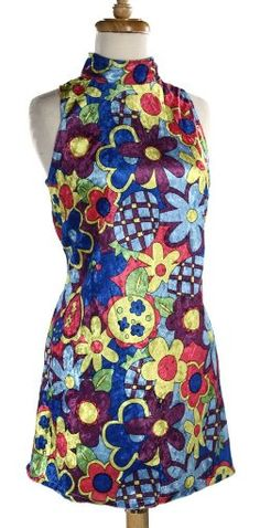 60's Dress - this you wore with go go boots and net stockings. Remember?