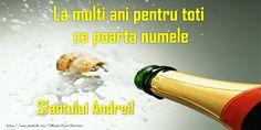 La multi ani pentru toti ce poarta numele Sfantului Andrei! Sf, Facebook, Funny, Mariana, Funny Parenting, Hilarious, Fun, Humor