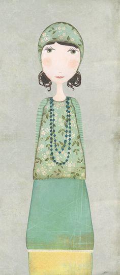 Flower girl #5 by Katherine Quinn