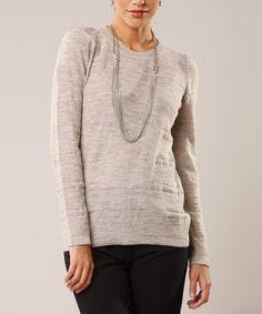 Heather Gray Eloise Sweater