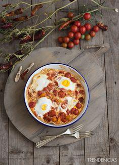El Gourmet Urbano: Huevos  picantes al horno a la mexicana. #Receta