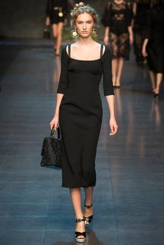 Manuela Frey - Dolce & Gabbana Spring 2014 Ready-to-Wear Collection Slideshow on Style.com