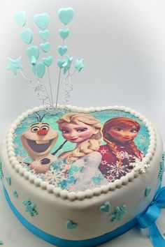 Need a birthday cake for a party in Brussels? Need a corporate cake? We will design your cake with pleasure. Call us on 483 69 09 63 to book your cake. Frozen Themed Birthday Cake, Frozen Theme Cake, Birthday Cake Girls, Themed Cakes, Anna Elsa Torte, Anna Und Elsa, Pastel Frozen, Frozen Banner, Barbie Cake