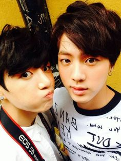 Jungkook & Jin - Youngest and oldest ♡