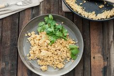spiced cauliflower couscous