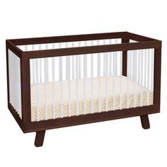 Babyletto Hudson Convertible Crib White #laylagrayce #nursery #bird