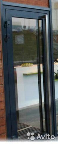 Дверь входная стеклопакет в рамке 70х190— фотография №1