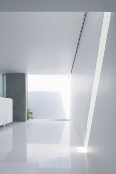 Direct and indirect light flooding the living room of the House in Kaijin by Fuse Atelier.