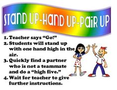 Kagan-Structure-Poster-Stand-up-Hand-up-Pair-up-554768 Teaching ...