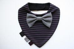Halstuch, Sabberlatz, Lätzchen + Fliege Krawatte von BizBizBaby auf DaWanda.com