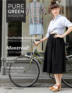 Pure Green magazine fall/2011 #environment #greenliving #design #DIY #decor #travel #food #quarterly #free