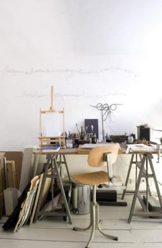 Awesome artist studio